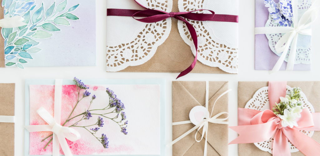 Invitations and envelopes