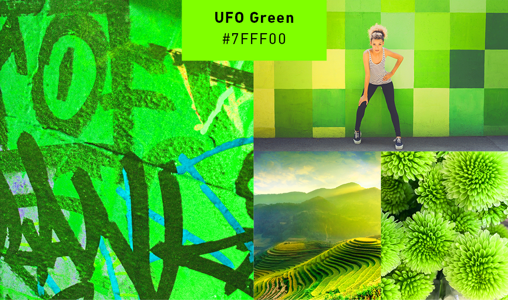 2019 Color Trends – UFO Green