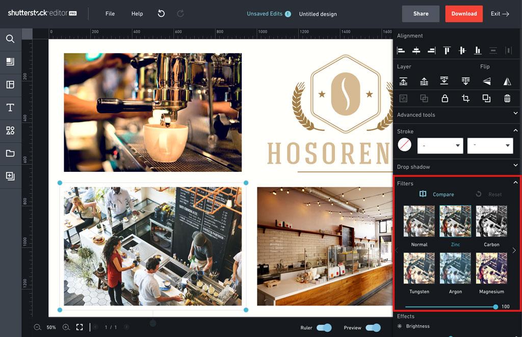 Wie Ihr Foto Collagen In Shutterstock Editor Erstellt