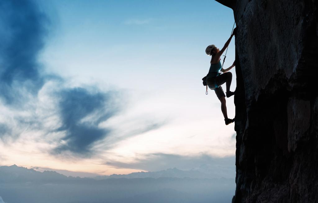 February Fresh - Female Rock Climbing