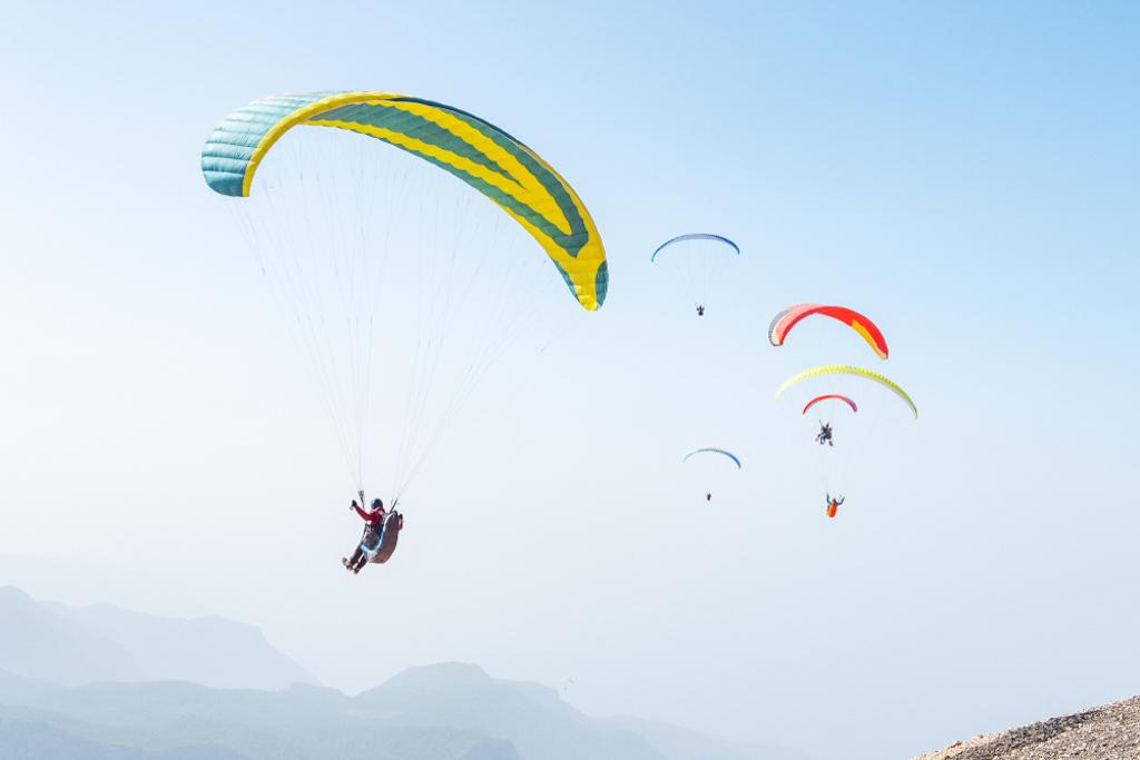 February Fresh - Mountain Paragliding