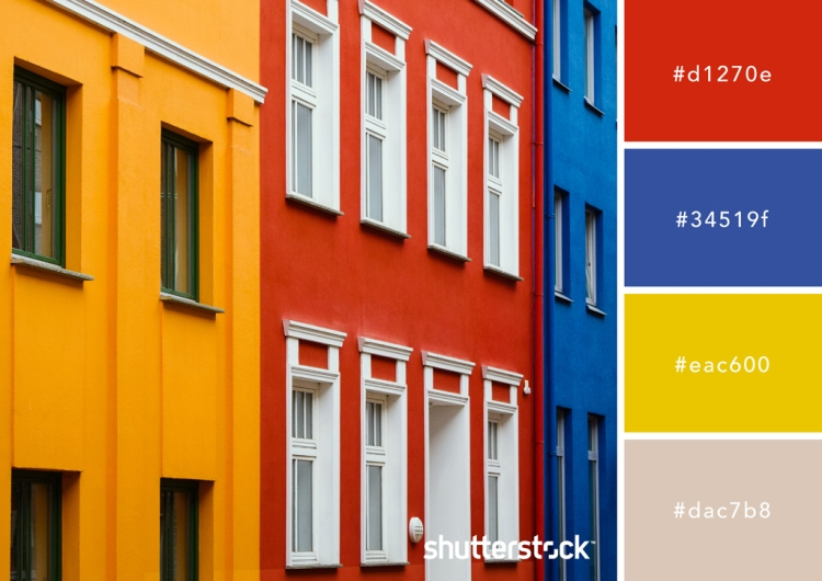 All About Red: Origin, Theory, Design Applications, and Color Schemes — Primary Palette