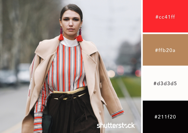 All About Red: Origin, Theory, Design Applications, and Color Schemes — Military Red and Camel