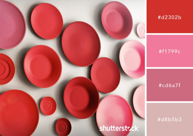 All About Red: Origin, Theory, Design Applications, and Color Schemes — In the Pink