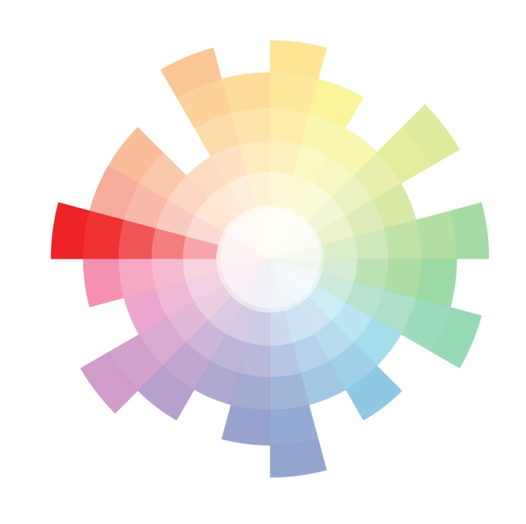 All About Red: Origin, Theory, Design Applications, and Color Schemes — Red Color Wheel