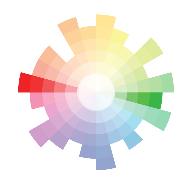 All About Red: Origin, Theory, Design Applications, and Color Schemes — Complementary Color