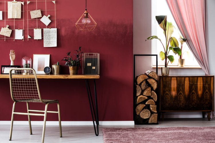All About Red: Origin, Theory, Design Applications, and Color Schemes — Red in Interior Decorating