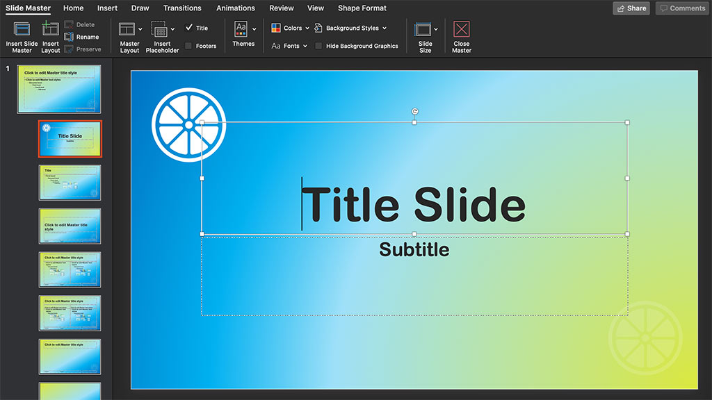 edit basic slides in PowerPoint