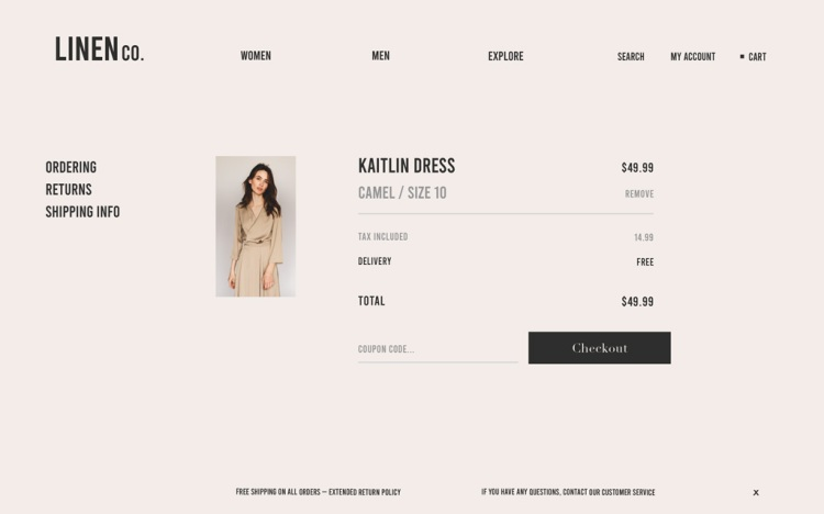 How to Design an E-commerce Website in 6 Easy Steps — The Basket Page