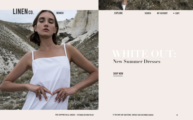 How to Design an E-commerce Website in 6 Easy Steps — Ways to Encourage Scrolling