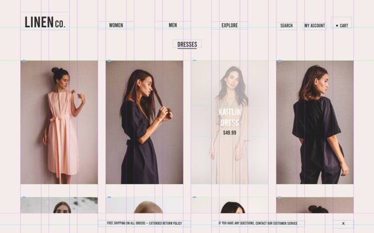 How to Design an E-commerce Website in 6 Easy Steps — Page Layout Structure