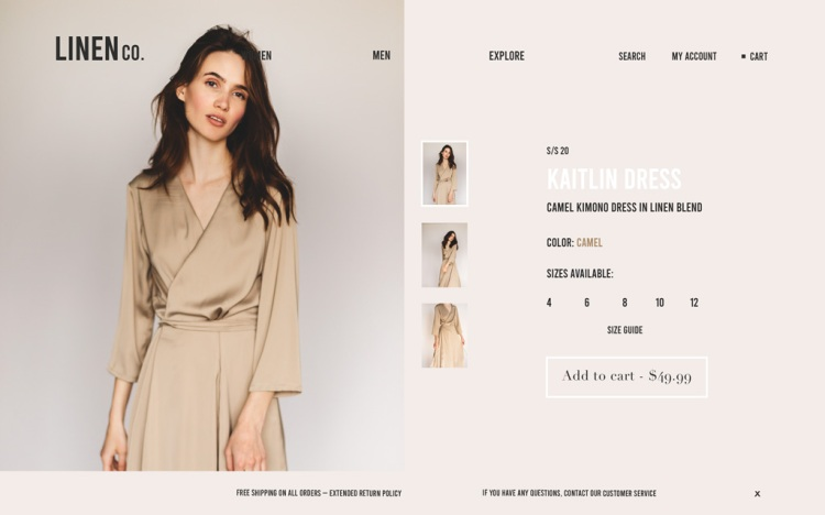 How to Design an E-commerce Website in 6 Easy Steps — Product Pages
