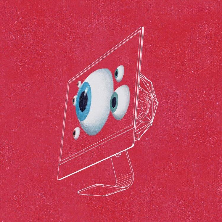 Computer Screen Eyeballs