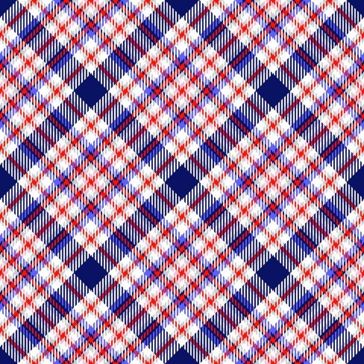 Diagonal Tartan
