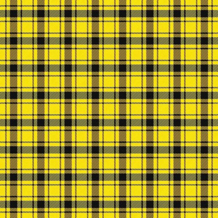 Yellow Tartan Pattern