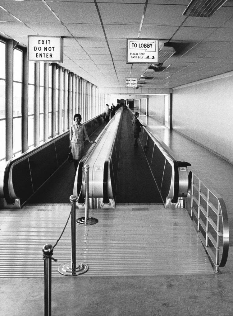 Airport Sidewalk