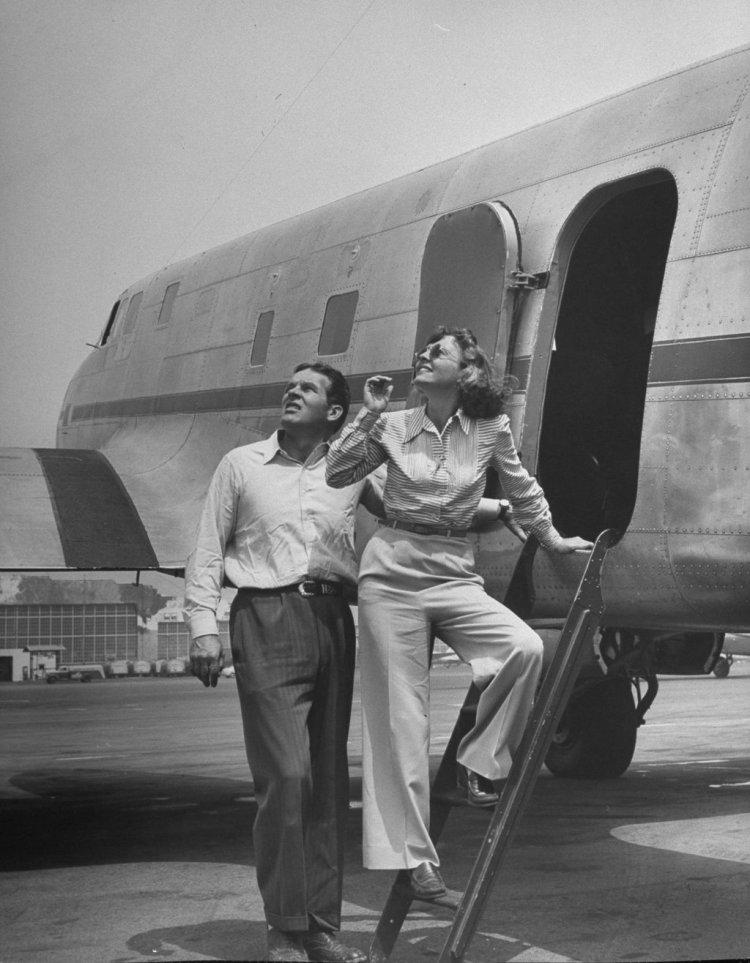 Boarding Airplane
