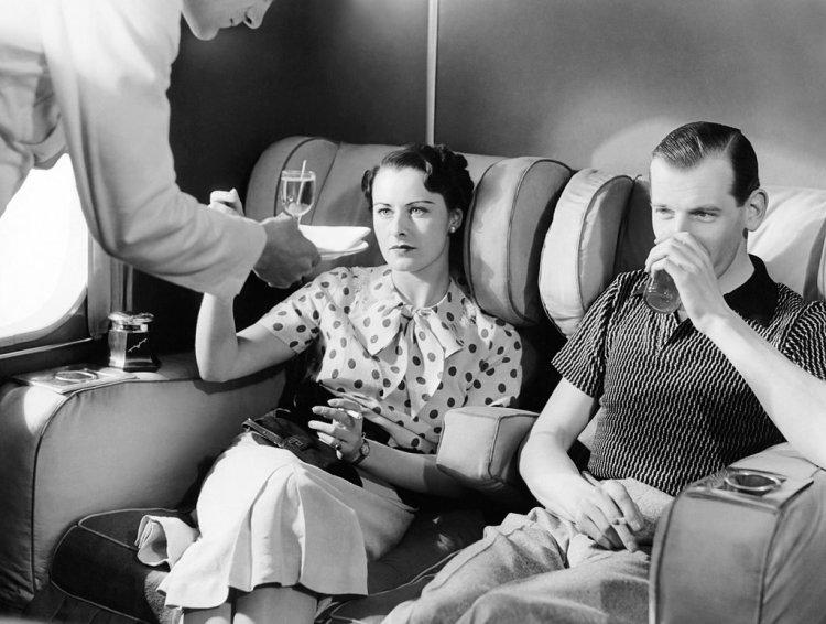 Cocktails on Plane