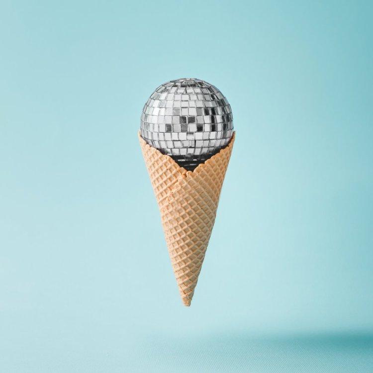Disco Ball Cone