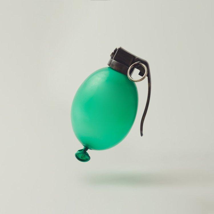 Hand Grenade Balloon
