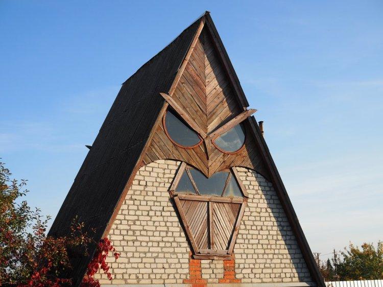 Owl Face House