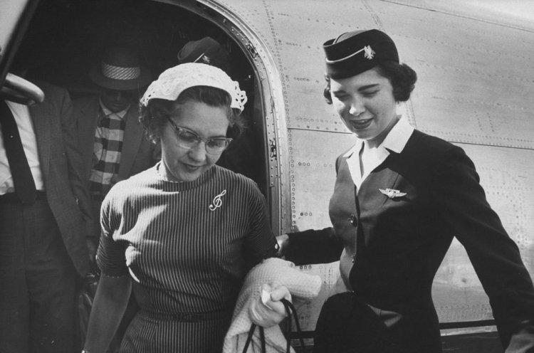 Two Stewardesses