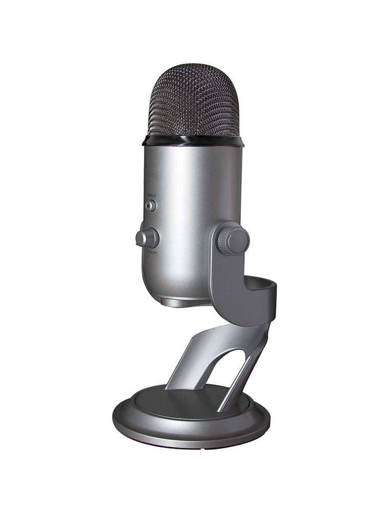 A Blue Yeti USB microphone